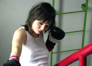 Backstage - photoshoot - boxing Teasing 1