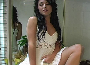 Backstage - photoshoot - White dress Teasing 2