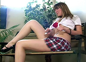 Photoshoot School Girl Teasing 3